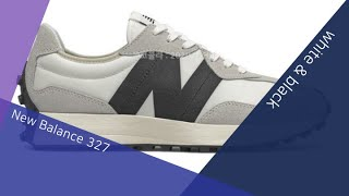 #149 New Balance 327 white &am…