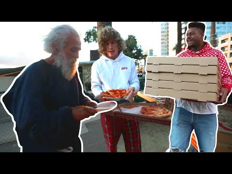 Feeding The Homeless with Juju Smith-Schuster!