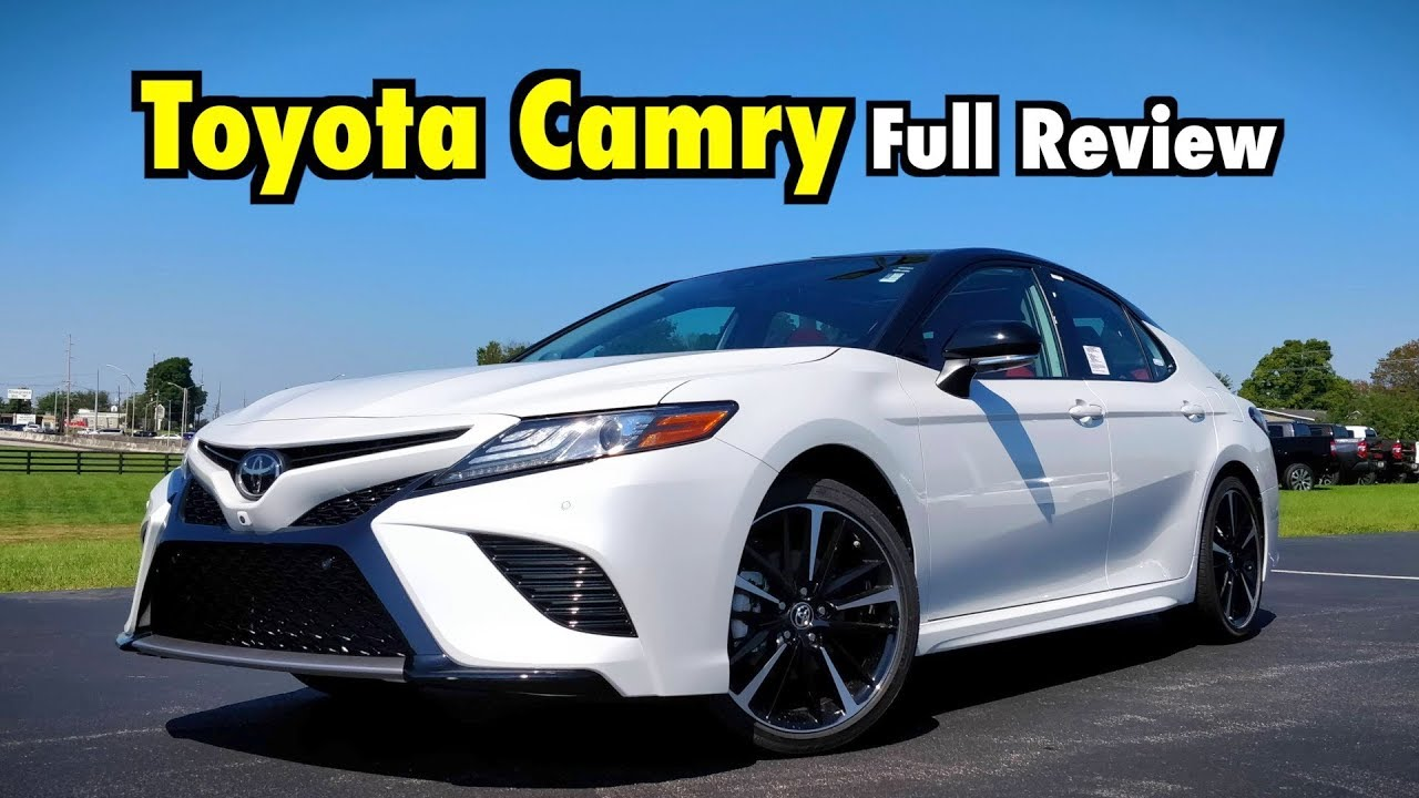 2019 Toyota Camry Full Review The Crazy Cool Camry Adds Apple Carplay