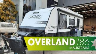 Overland 18'6 RD Couples Caravan External Overview