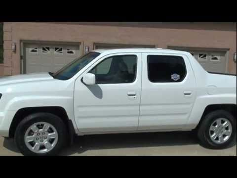 2007 Honda Ridgeline Rtl 4wd White Low Miles For Sale See