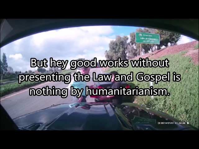 Evangelizing on the freeway