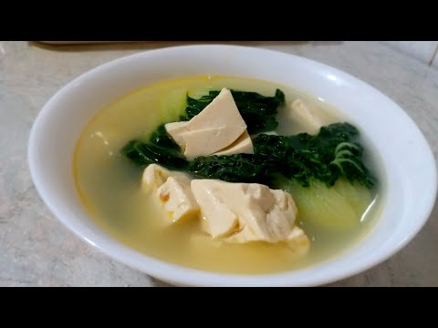 How To Make Milky Fish Soup With Vegetables & Tufo