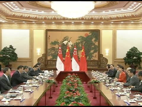 China, Singapore Agree to Upgrade Relations to New Level