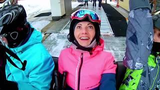Телепортация КТО ВИНОВАТ Что СЛУЧИЛОСЬ на лыжах и в Бассейне с Катей и Максом