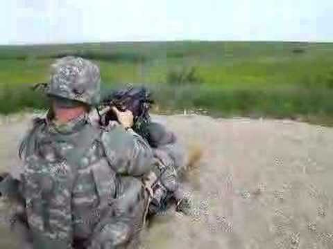 MK19 Grenade Launcher shoot.