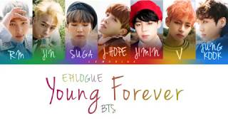 Gambar cover BTS (방탄소년단) - EPILOGUE : Young Forever [Color Coded Lyrics/Han/Rom/Eng]