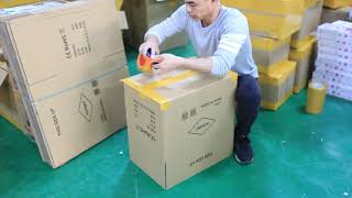Shipping Packing Moving Kraft Paper Boxes
