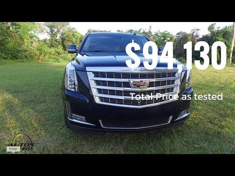 2017 Cadillac Escalade Premium Luxury - Total Price as tested: $94,130