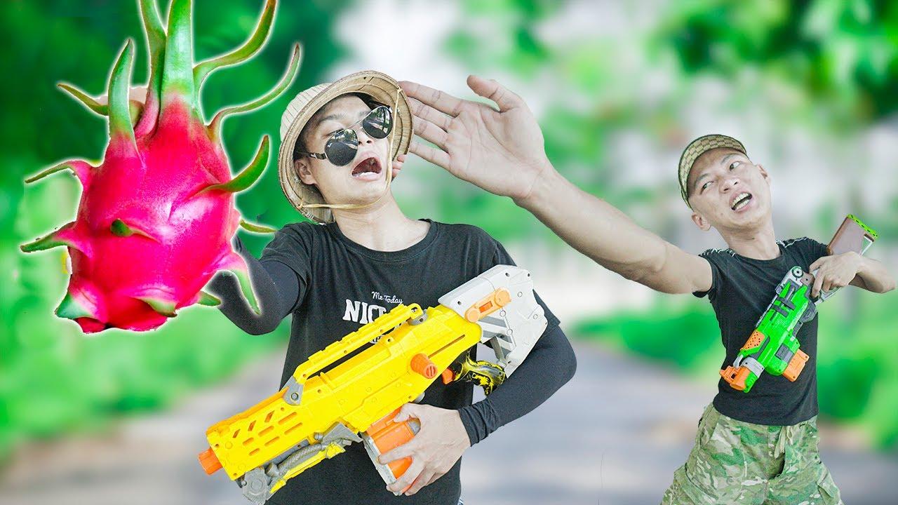 Battle Nerf War: Competition Nerf Guns PITAYA BATTLE