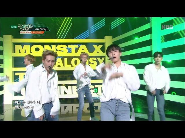 뮤직뱅크 Music Bank - Jealousy - 몬스타엑스 (Jealousy - MONSTA X).20180330