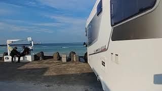 세화해변 풍경 차박정보