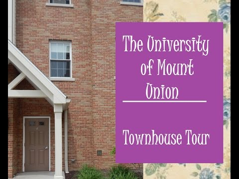 Townhouse Tour | University of Mount Union