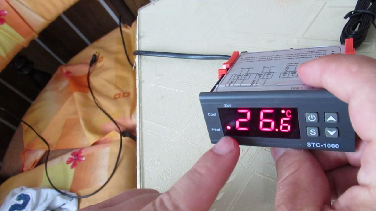 elitech stc 1000 temperature controller set manual [ 1280 x 720 Pixel ]