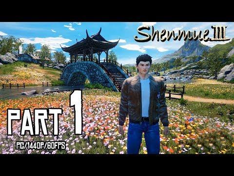 SHENMUE 3 Walkthrough PART 1 (PC) Early Access Demo Gameplay @ 1440p (60ᶠᵖˢ) ✔