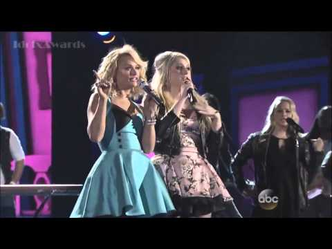 Miranda Lambert & Meghan Trainor   All About That Bass   CMA's 2014