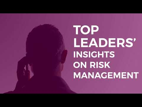 Top Leaders' Insights on Risk Management