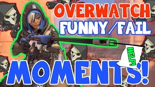 OVERWATCH EPIC FAILS! (Overwatch Funny/Fail Moments)