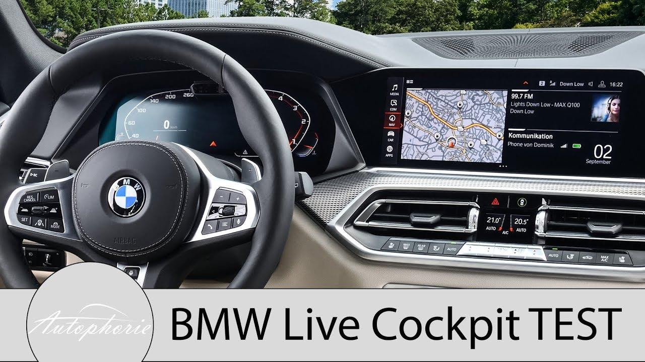 bmw live cockpit plus vs professional