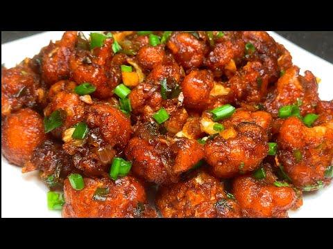 गोभी मंचूरियन  Street Style Crispy Gobhi Manchurian recipe   Indochinese Crispy Gobhi Manchurian