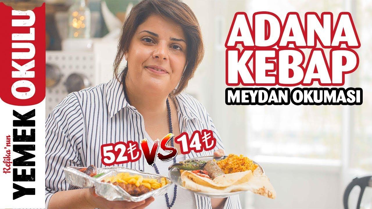 52₺ vs 14₺ Adana Kebap Meydan Okuması (Challenge)   Refika ile Evde Daha Ucuz ve Hızlı Adana Kebap