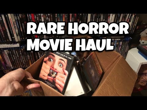 Rare and OOP Horror Movie Haul & New Store!