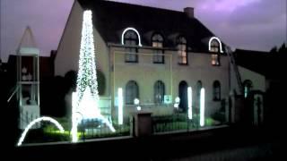 "Dancing Christmas lights in Belgium using Light-O-Rama  ""The House on Christmas Street"""