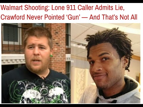 Man who called 911 in Ohio Walmart shooting changes his story after viewing video