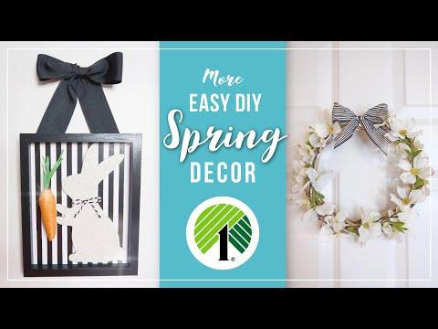 Spring & Easter DIY Home Decor Ideas   Easy Spring Crafts   DIY Easter Decorations