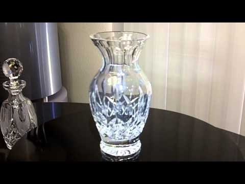 Waterford Lismore Vase Youtube