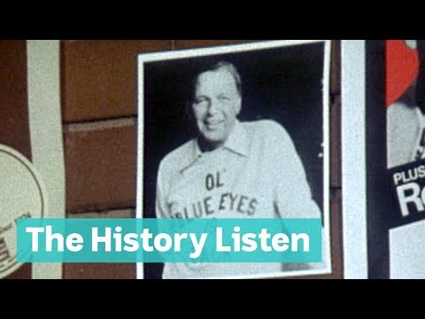 Frank Sinatra's tour of Australia, 1974 | The History Listen