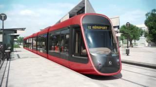La ligne 2 du tramway de Nice sera de couleur ocre