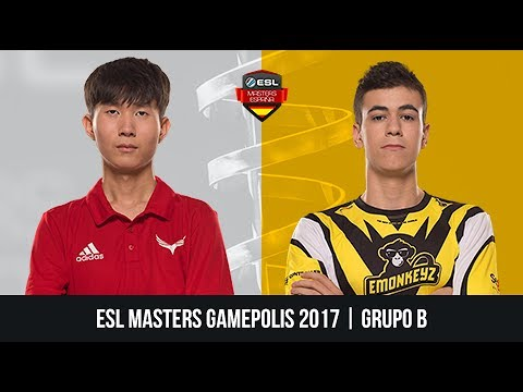 Neverback Gaming vs. eMonkeyz Storm - Grupo B - ESL Masters Gamepolis 2017