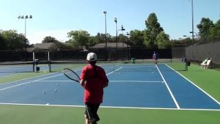 GoPro Tennis Filmed in 2.7K