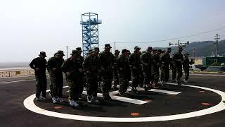 복싱 국가대표팀, 실미도 해병대 캠프 지옥 극기훈련 투…