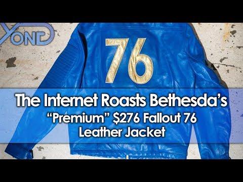 "The Internet Roasts Bethesda's ""Premium"" $276 Fallout 76 Leather Jacket"