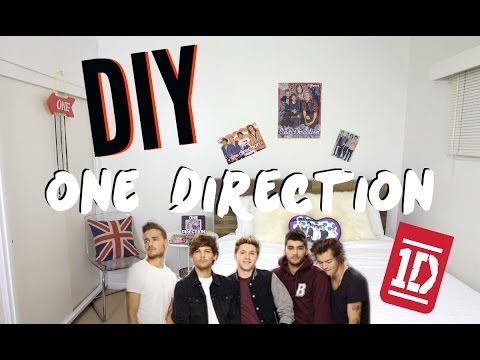DIY One Direction Room Decor! Cheap & Simple!