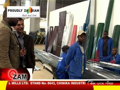 Proudly Zambian E10- M.M.Integrated Steel Mills