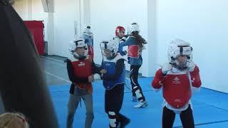 Тхэквондо тренировка спорт