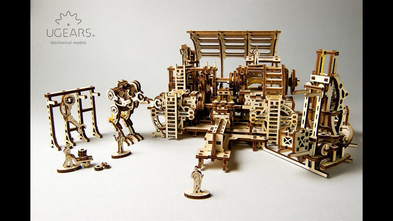 UGears 3D Puzzles Wholesale - Unique 3D Mechanical Models