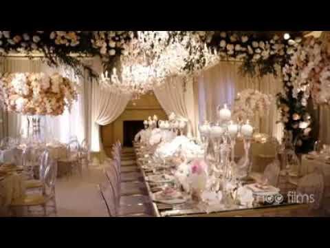 Most Beautiful Wedding Reception Youtube