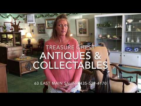 Treasure Chest Antiques & Collectibles at 63 East Main Street in Salina Utah