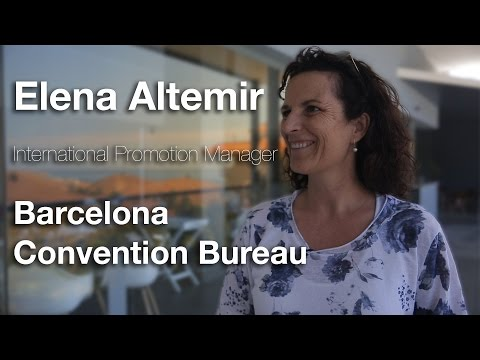 Connections Leaders TV Interview, Elena Altemir, Barcelona Convention Bureau