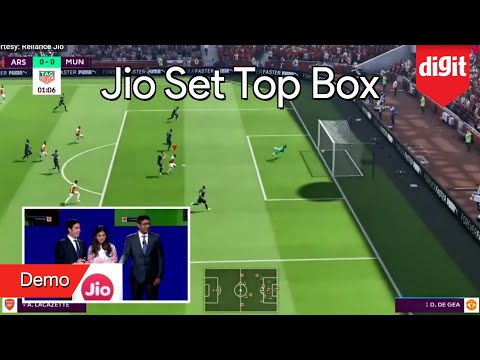 jio-set-top-box-demo-|-zero-latency-4k-online-gaming