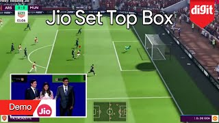 Jio Set Top Box Demo | Zero Latency 4K Online Gaming