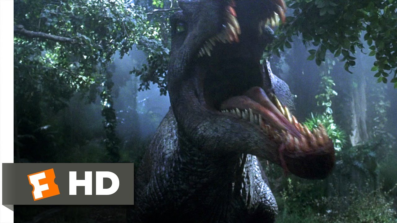 Jurassic Park 3 2 10 Movie Clip Spinosaurus Attack