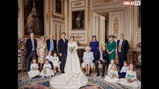El secreto detrás de las fotos oficiales de la boda de Eugenia de York y Jack | ¡HOLA! TV