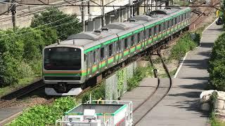 E231系 コツS-22編成 東京総合車両センター入場回送