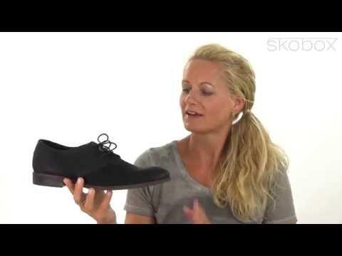 fc8bb6b4a02d Skobox - Smart Vagabond herresko i sort nubuck - Køb Vagabond sko online