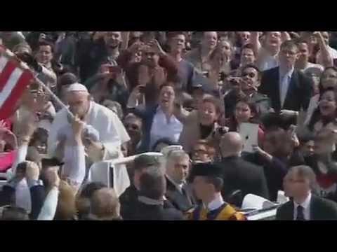 Leitura - Papa Francisco É Aclamado Em Audiência Pública